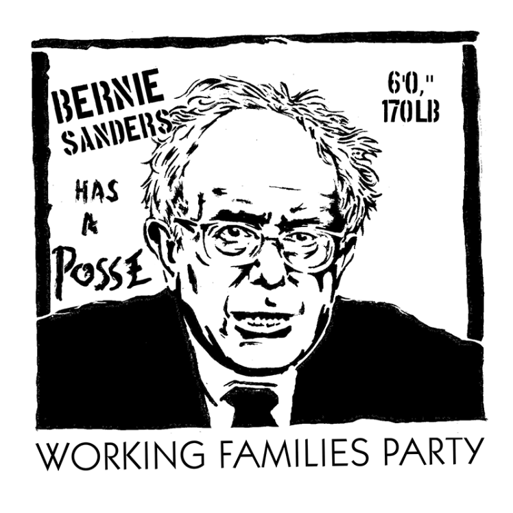 Image Credit: Working Families Party, homage to Shepard Fairy's Andre the Giant